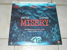 LD - MISERY - Stephen King - James Caan - Kathy Bates - PAL - Englisch