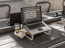 Multifunktion Laptop Notebook Holz Ständer Tisch Halter Halterung Tablet Macbook