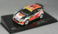 IXO RAM602 FORD FIESTA RS WRC model rally car Kubica / Benedetti Monza 2014 1:43