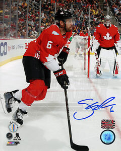 Shea Weber Montreal Canadiens Signed Autographed Canada World Cup of Hockey 8x10