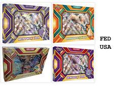 POKEMON TCG (4) Collection Boxes: Charizard EX, Gengar EX, Mewtwo EX, Dragonite