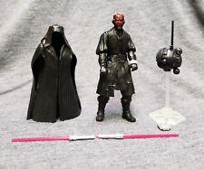 "Star Wars Darth Maul Figure Sith Lord Basic Series 4"" Complete"
