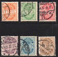 Denmark Part set 1882-79 Used (4434)