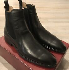 650$ Bally Nendor Black Leather Chelsea Boots Size US 11 Made in Switzerland