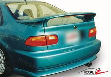 92-95 Honda Civic Coupe 2D 3PC Rear Spoiler /w LED Light EG Primer USA CANADA