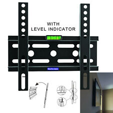 "Universal 24-42"" LED TV Flatscreen Fixed Wall Mount Bracket - VESA 200x200mm"