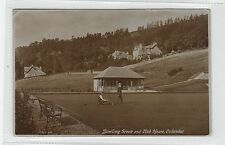 BOWLING GREEN AND CLUB HOUSE, CALLANDER: Perthshire postcard (C28363)