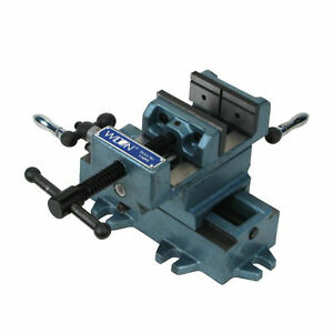 Wilton Tools 4 Inch Cross Slide Table Drill Press Vice with Cast Side Knobs