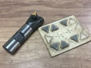 "1 "" INDEXABLE MILLING W/ 3/4 "" SHANK + INSERTS"