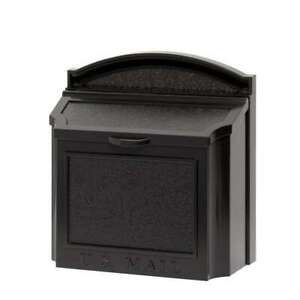 Whitehall Products Wall Mailbox Weather Resistant Extra-Large Mounting Hardware