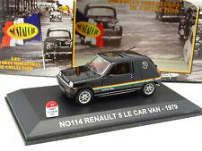 Nostalgie 1/43 - Renault 5 Le Car Van 1979
