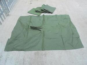 British Army Military Lightweight Waterproof Poncho Cape Groundsheet Basha