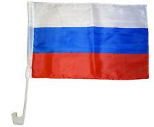 Drapeau pour auto Russie 30 x 40 cm voiture Fenêtre Fanion Fan
