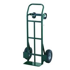 Convertible Hand Truck With Pneumatic Wheel Platform Dual Purpose Dolly Cart Pro
