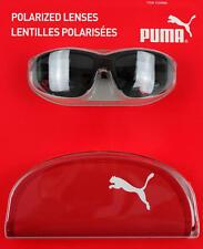Puma Eyewear Sunglasses Polarized Lenses UV Protection + Case