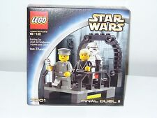 LEGO Star Wars Final Duel II Set 7201 New Luke Jedi StormTrooper Officer Minifig