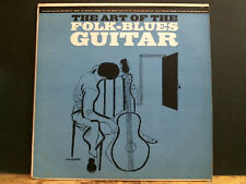 JERRY SILVERMAN  The Art Of The Folk-Blues Guitar  LP  Folkways     Great !