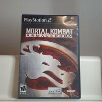 Mortal Kombat Armageddon ( PS2 Playstation 2 ) TESTED