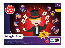 Playtive Kids Magic Set 150 Tricks Magician Box Set Top Hat,  Cards Tricks etc