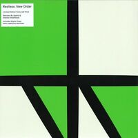 """New Order 12"""" Restless - Limited Edition Green Vinyl - Europe"""