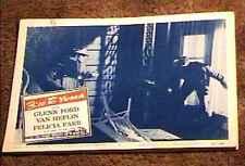 3:10 TO YUMA  1957 LOBBY CARD #8 CLASSIC WESTERN