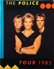 The Police Police Tour� 1983 Tour Concert Program Nr