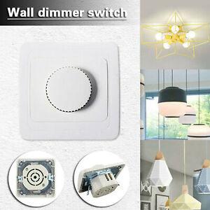 Variateur LED Variateur rotatif 4-300W mural pour lampe LED dimmable encastrée