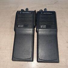 Lot Of 2 Motorola Mts2000 Two Way Radio No Battery