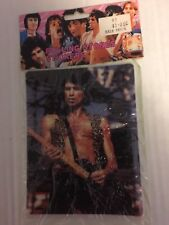 1983 Rolling Stones PUFFY STICKERS SHEET SEALED Keith Richards EX Condition
