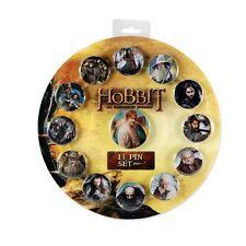 DER HOBBIT Bild Foto Bilbo Gandalf Charakter Geschenk Set 13 Ansteckpins
