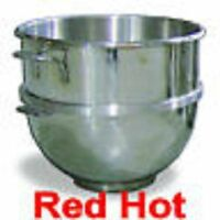 Omcan 14248 Stainless Steel 60 Qt Mixing Bowl Hobart Mixer 20-30-80-140