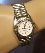 Breitling stainless ,18 kt gold Callistino windrider ladies bullet band Watch
