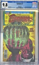 CHAMPIONS #13 CGC 9.8 : LENTICULAR COVER VARIANT AVENGERS ANNUAL 17 HOMAGE