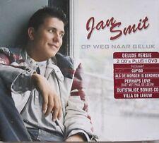 JAN SMIT - OP WEG NAAR GELUK  - DE LUXE VERSIE- CD + BONUS CD IN GERMAN + DVD