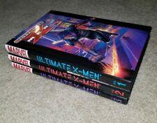 Ultimate X-Men HC 1, 2, 3 | SIGNED w/COA | ADAM KUBERT & CHRIS BACHALO 1st Print