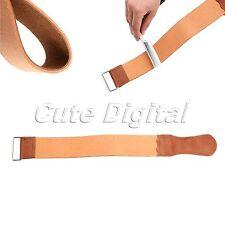 Genuine Leather Strop Professional Barber Shaving Straight Razor Sharpener Strap