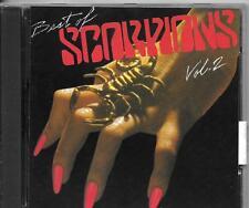 CD COMPIL 10 TITRES--SCORPIONS--BEST OF VOL.2...