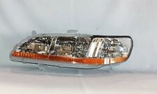 Left Side Replacement Headlight Assembly For 1998-2000 Honda Accord