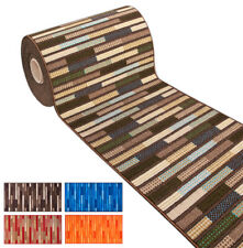 Tappeto cucina bordato antiscivolo stile bamboo parquet legno passatoia ingresso