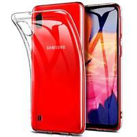 Transparent Cover für Samsung Galaxy A10 Handy Hülle Silikon Case Schutz Tasche