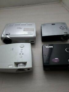 Lot 4 videoprojecteurs projector beamer 3m benq optoma saville x40 mw512 ep1690