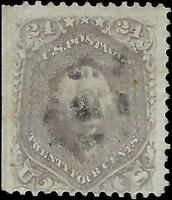 VEGAS - 1862 Sc# 70a - Light Cancel - Natural Straight Edge - Tear - Read - EJ63
