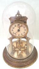 German Urania 400 Days anniversary Winding Movement Clock With Glass  Dome