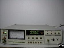 LEADER LFM-3616 WOW & Flutter Meter