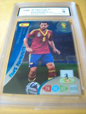 XAVI HERNANDEZ SPAIN 2014 ADRENALYN XL FIFA WORLD CUP FANS' FAVOURITE GRADED 9