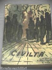 CIVILTA Antologia storico letteraria Gestri Pianciamore Villa Morano 1963 Libro