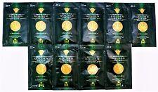 "European Gold ""Golden Hemp Tingle-Free"" Tanning Lotion, Lot Of 10-.5Z Pkts - New"