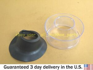 JCB BACKHOE - PRECLEANER BOWL WITH SEAL (PART NO. 32/903103 813/00376)