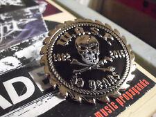 W.A.S.P. Metal Badge Pin Jacke Kutte Heavy Metal First Blood Last Cuts