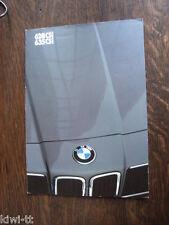 BMW 628 CSi, 635 CSi, Prospekt / Brochure / Depliant, English edition, 1.1982